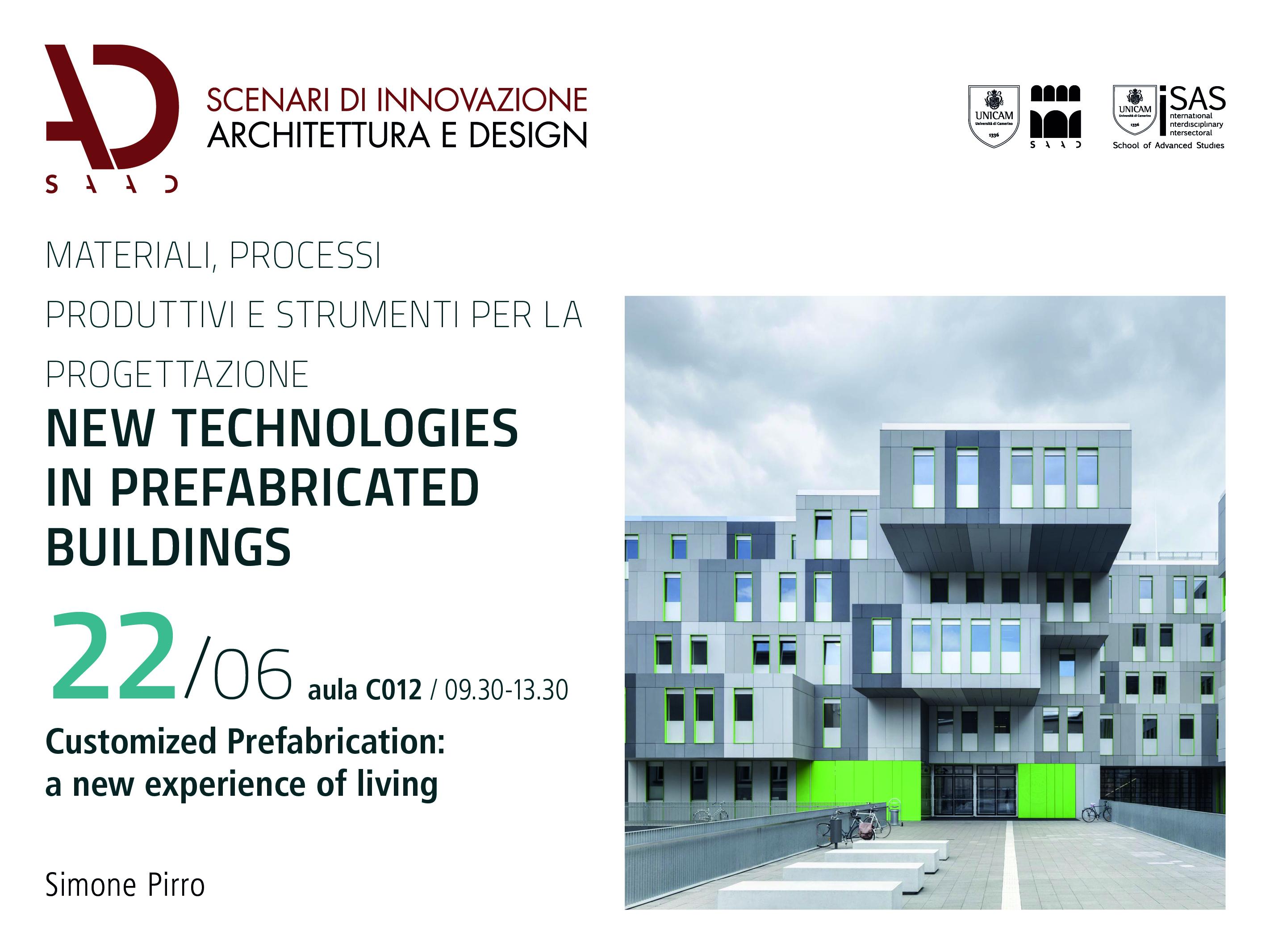 Architettura E Design cicli di seminari didattici _ scenari di innovazione