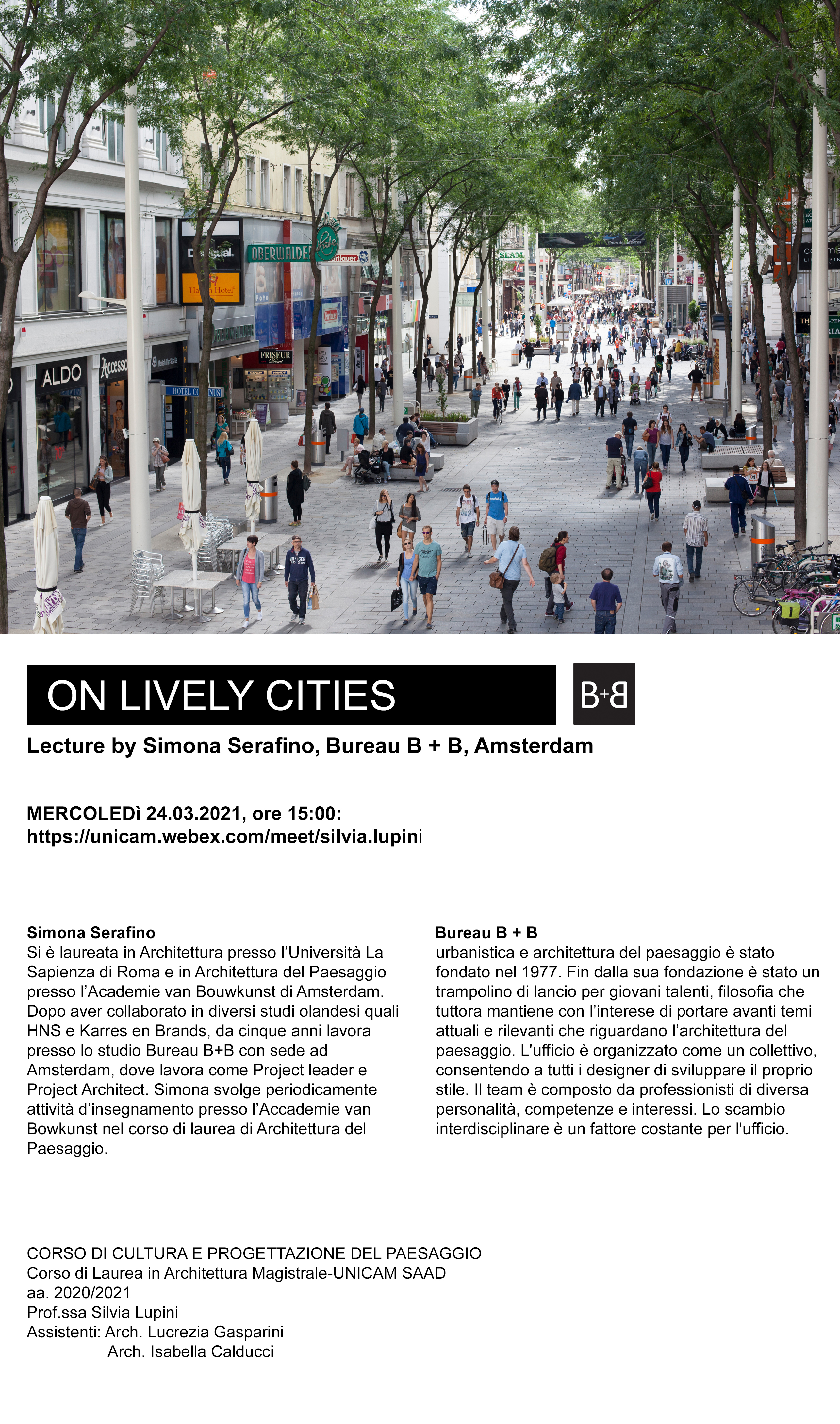 ON LIVELY CITIES