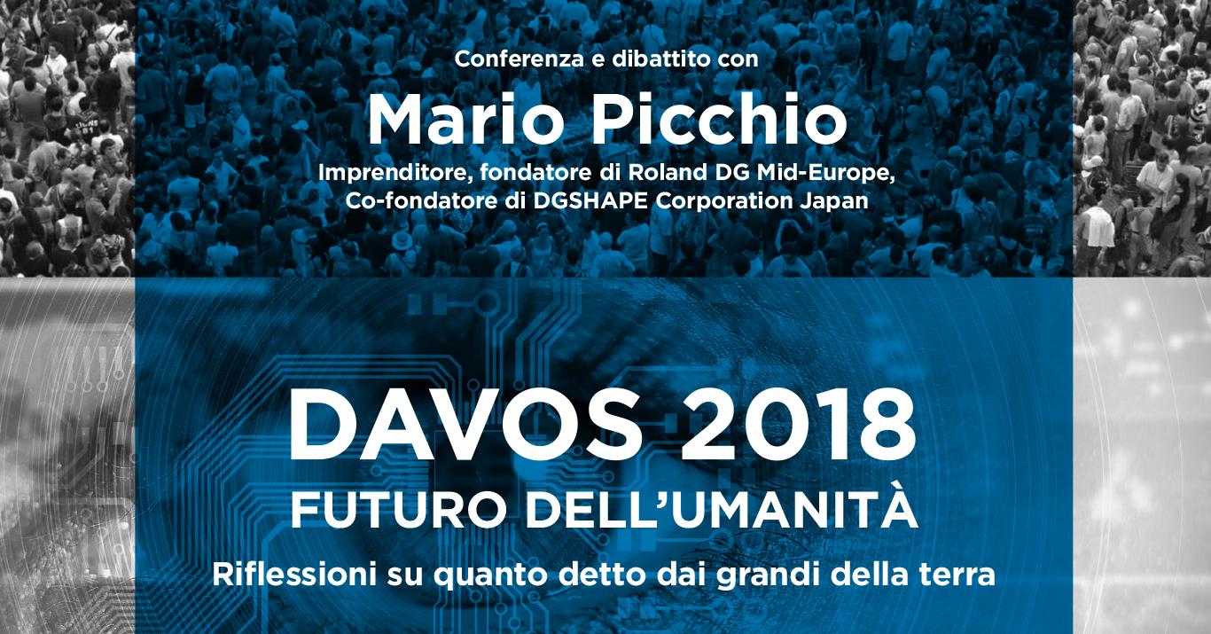 Davos 2018 Futuro dell'Umanità