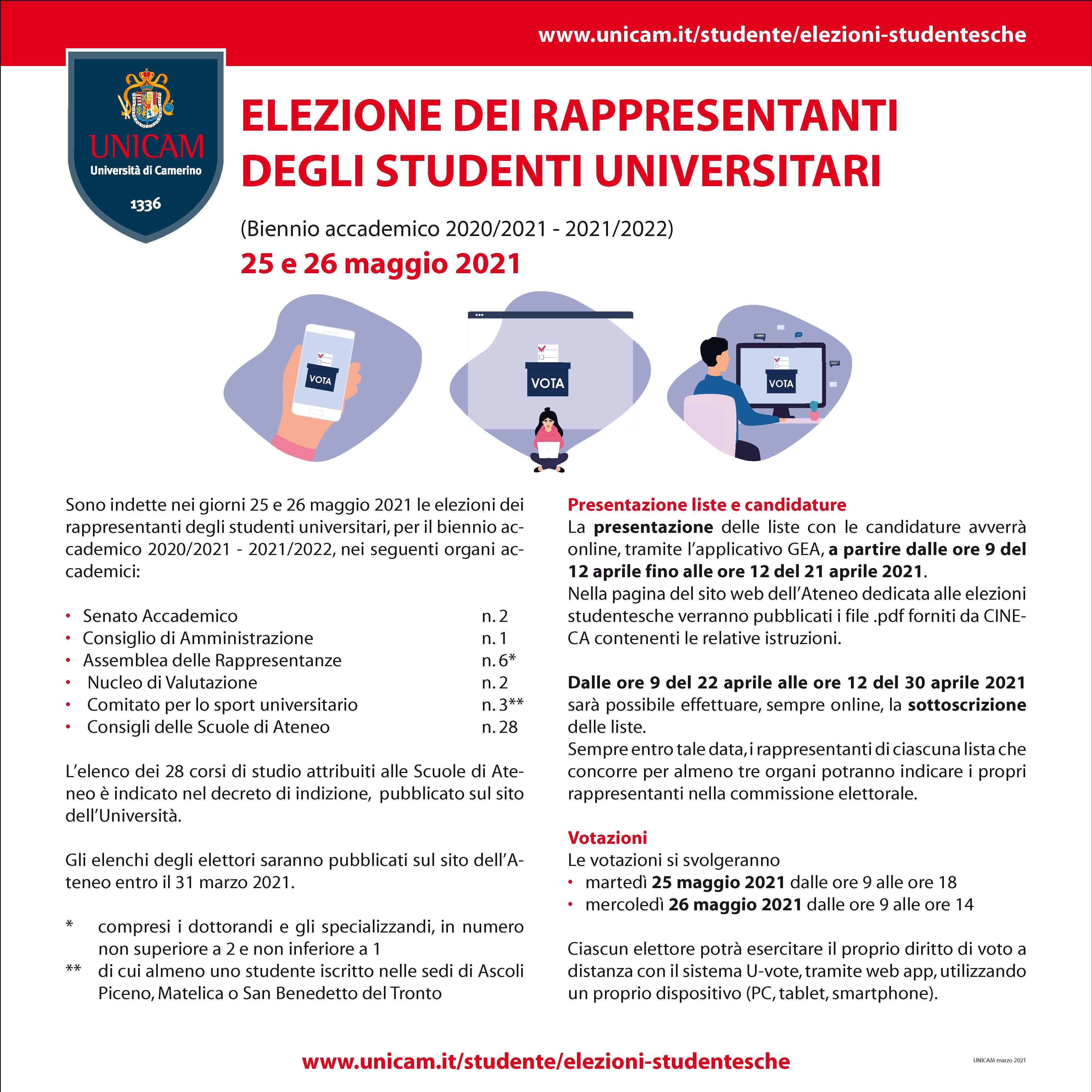 votazione rappresentatnti studenti