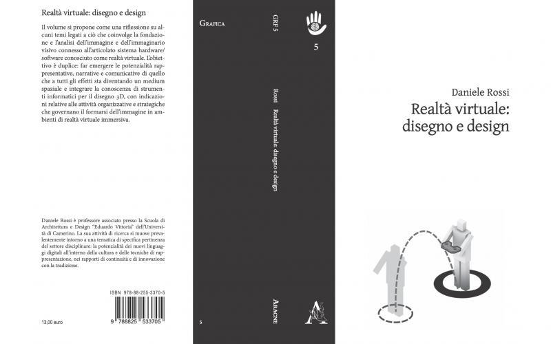 realtà virtuale: disegno e design, daniele rossi, libro copertina