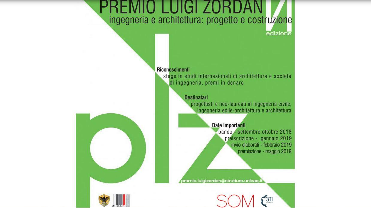 Premio Luigi Zordan - VI edizione 485fdffb5bd6