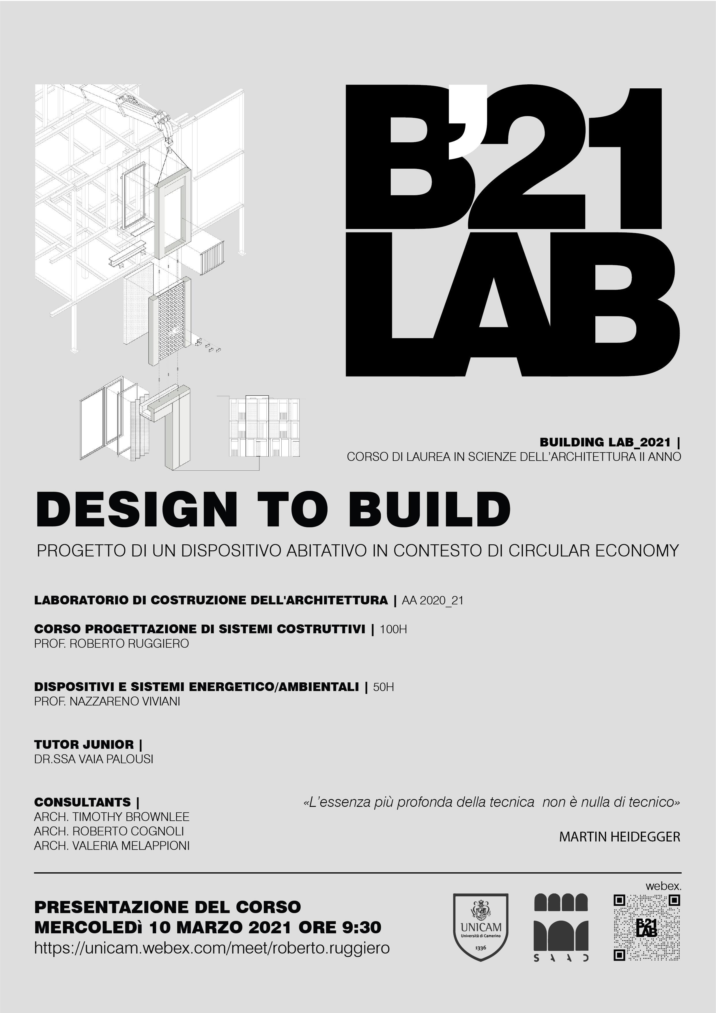 Design to build
