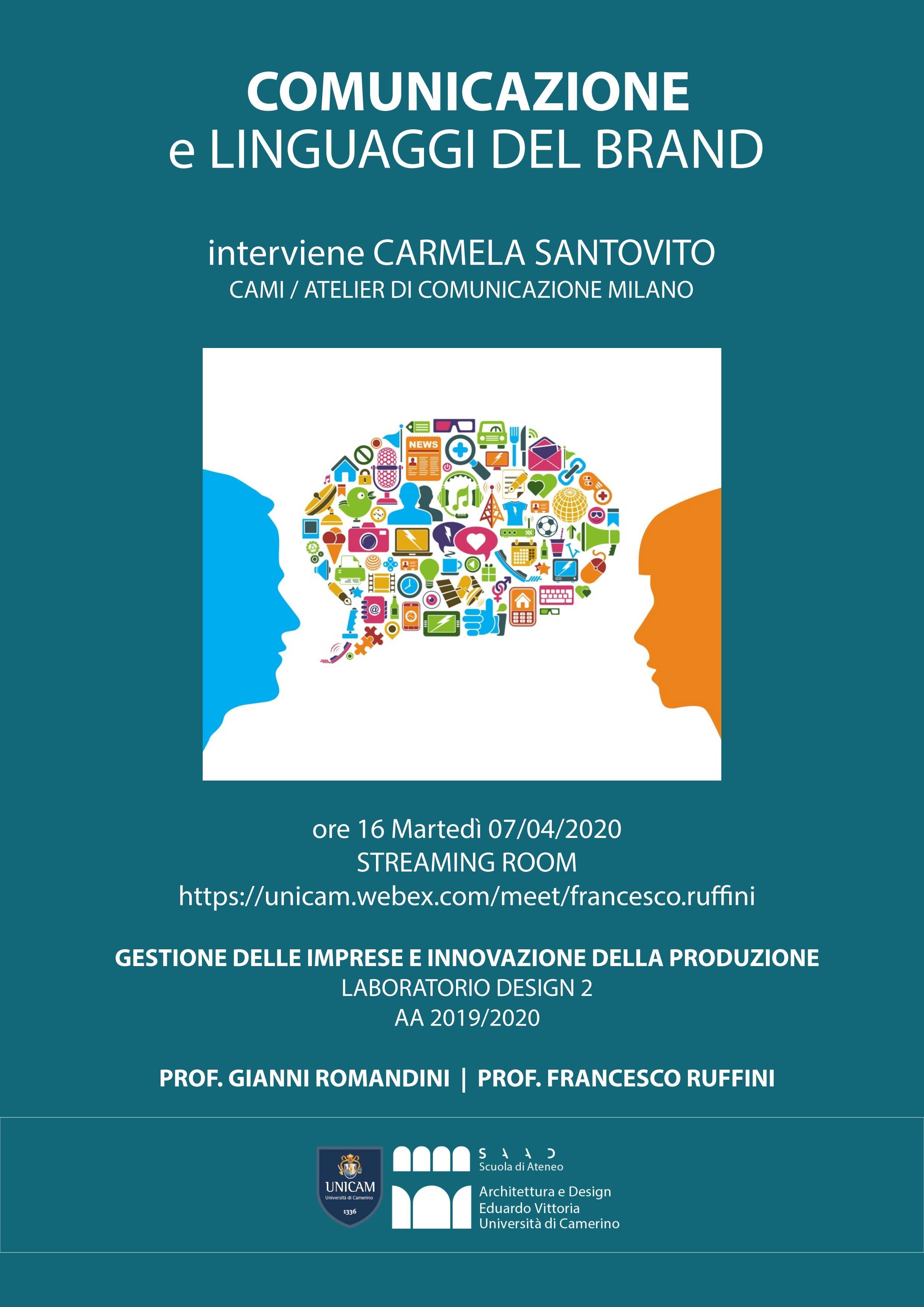 Locandina comunicazione e branding