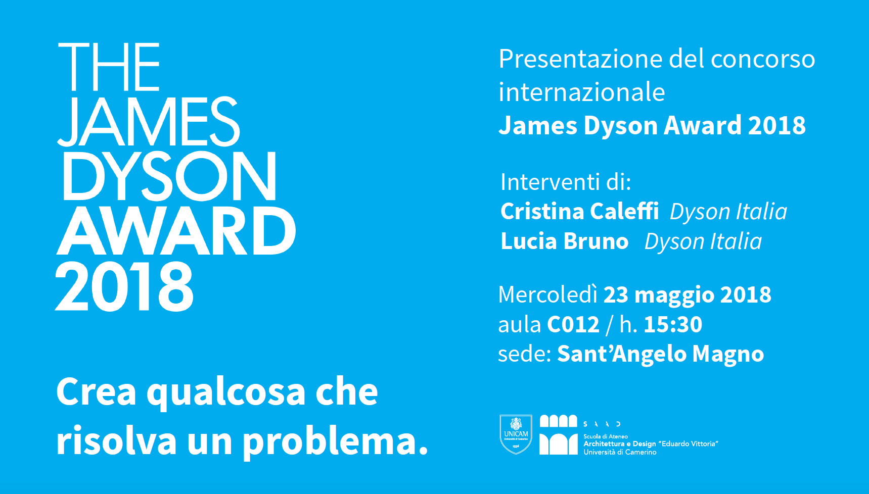 the james dyson award 2018 unicam ascoli piceno