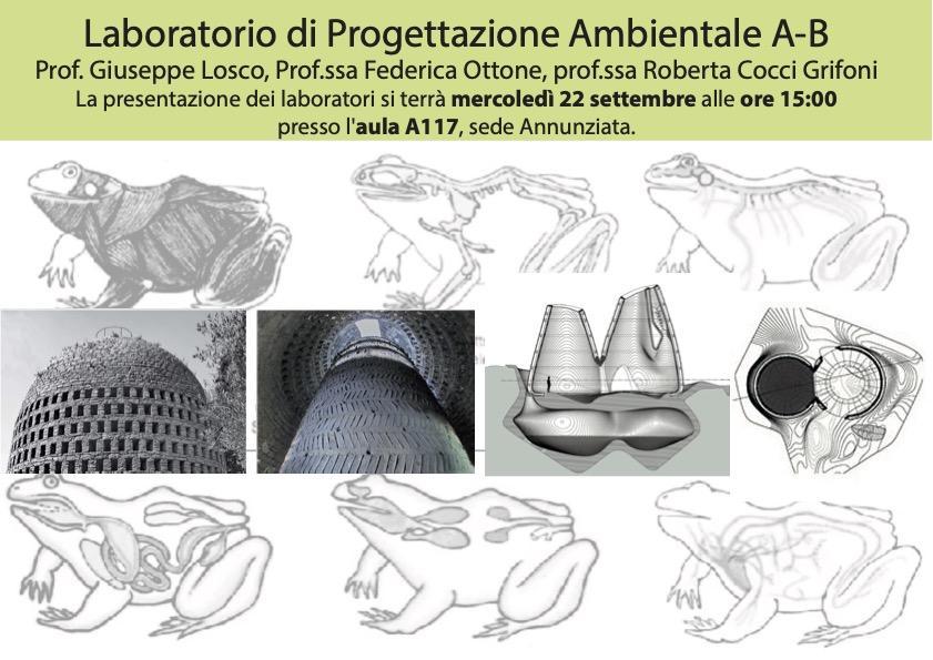 Laboratorio di Progettazione Ambientale A-B