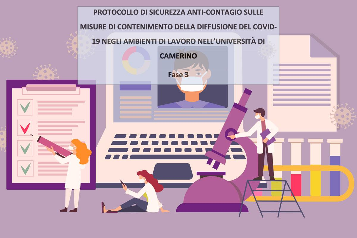 protocollo di sicurezza anticontagio fase 3