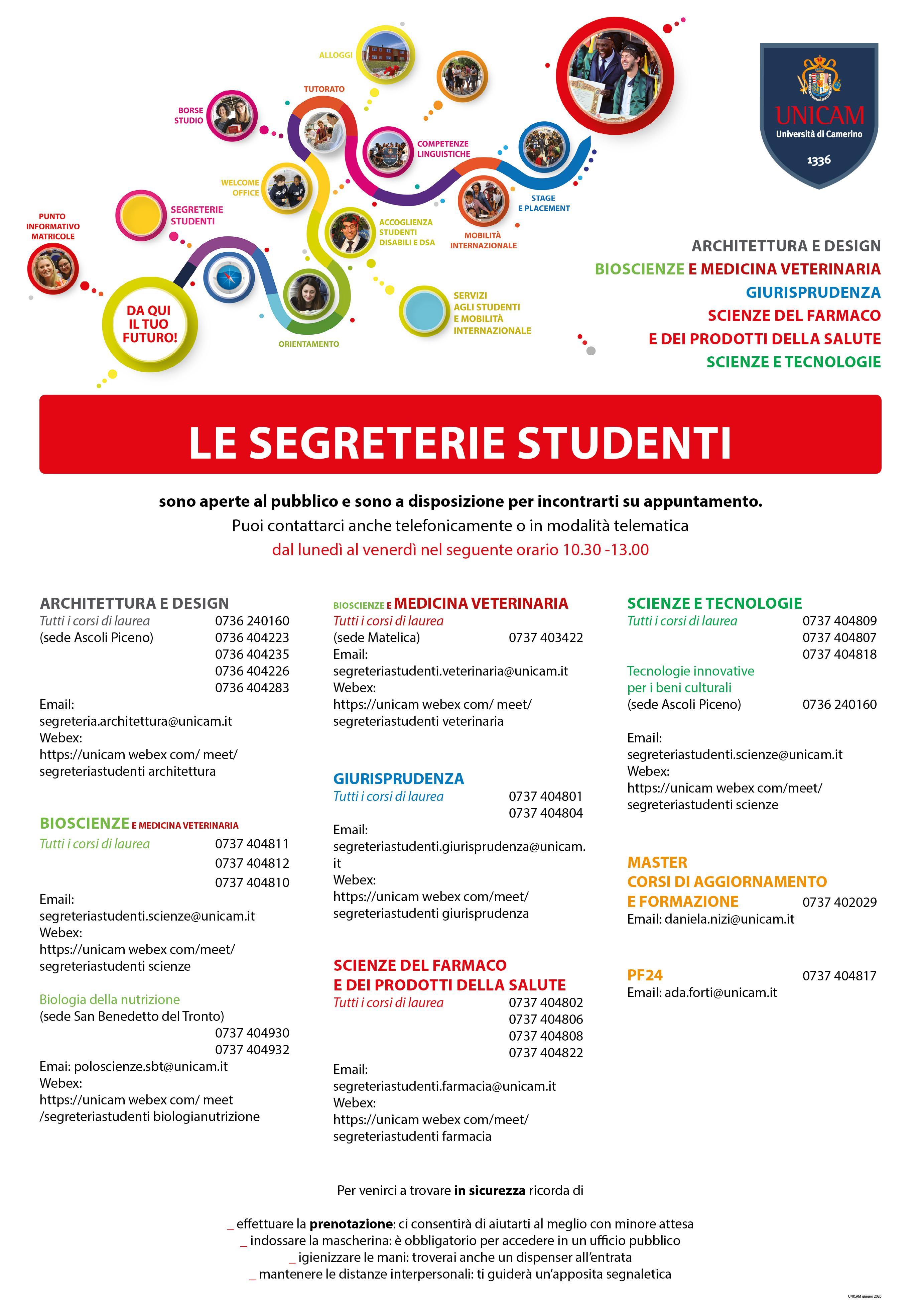 registrazione studenti